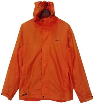 Nike Orange Polyester Jackets
