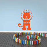 Mirrorin Personalised Lion Wall Sticker