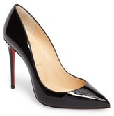 Christian Louboutin Women's Pigalle Loubitag Pointy Toe Pump