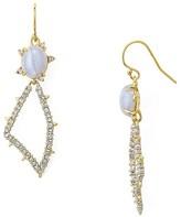 Alexis Bittar Swarovski Crystal-Encrusted Pavé Petal Drop Earrings