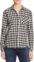 Current/Elliott The Workwear Slim Boy Shirt