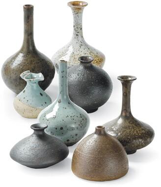 REGINA ANDREW Set of 8 Assorted Porcelain Bud Vases