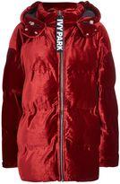 Ivy Park Velvet Puffer Jacket