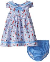Jo-Jo JoJo Maman Bebe Nautical Dress W/Knickers (Baby) - Blue-6-12 Months