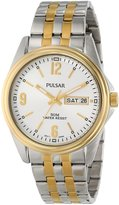 Pulsar 3-Hand Analog with Day/Date Men's watch #PV3002
