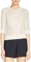 Maje Mythologi Open Knit Sweater