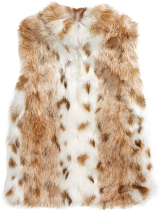 Widgeon Faux Fur Zip-Up Vest