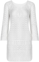 Diane von Furstenberg Montauk Cotton Lace Coverup Dress