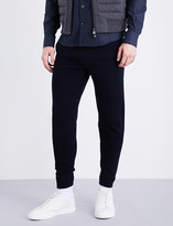 Corneliani Regular-fit skinny wool-blend jogging bottoms