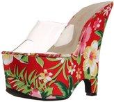 Pleaser USA Women's Beau-601FP/C/RMFPF Platform Sandal