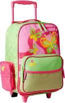 Stephen Joseph Little Girls' Rolling Butterfly Luggage
