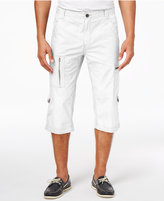 INC International Concepts Men's 18and#034; Convertible Messenger Shorts, Created for Macy's