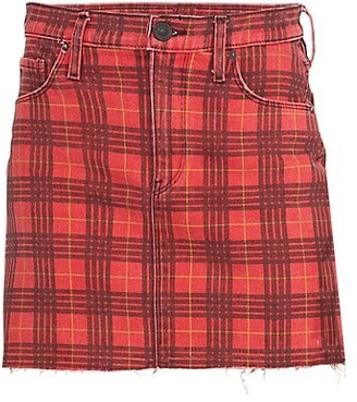 Hudson Viper Plaid Mini Skirt