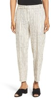 Eileen Fisher Women's Organic Cotton Slouchy Ankle Pants