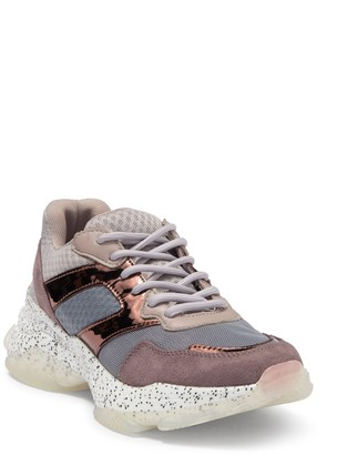 Steve Madden Misleading Speckled Exaggerated Sneaker