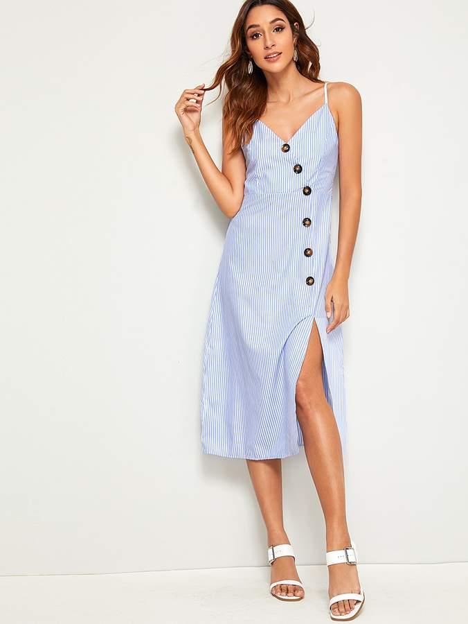 726abeefdbcb Shein Striped Dresses - ShopStyle