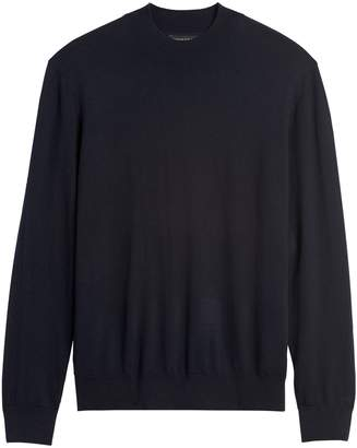Banana Republic Silk Cotton Cashmere Mock-Neck Sweater