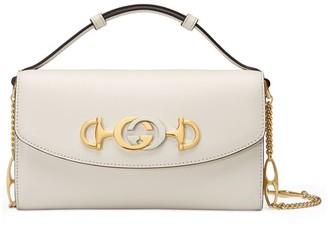 Gucci Zumi Leather Shoulder Bag