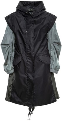 Mr & Mrs Italy Two-ways Rainproof Parka For Woman
