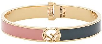 Fendi Logo Plaque Bracelet