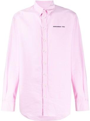 DSQUARED2 Button-Down Collar Shirt