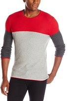 Parke & Ronen Men's Savoie Long-Sleeve Thermal Crew Neck Shirt