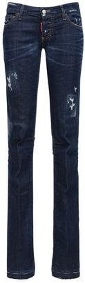 DSQUARED2 Sharpei Straight Perfecto Denim Jeans