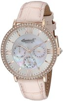 Ingersoll Women's INQ 034 SLRS Regency Stainless Steel Watch with Pink Band