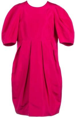 Alexander McQueen Pink Silk Dresses