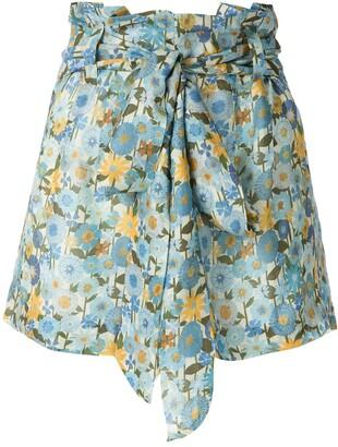 Clube Bossa Runa printed clochard shorts