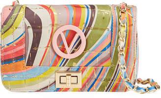 Mario Valentino Valentino By Beatriz Desert Rainbow Shoulder Bag