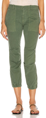 Nili Lotan Cropped Military Pant in Camo | FWRD