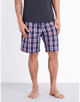Derek Rose Barker Cotton Pyjama Shorts