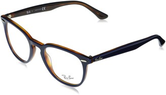 Ray-Ban Unisex's Rx7159 Square Eyeglass Frames Prescription Eyewear