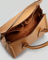 Alexander McQueen Small Heroine Satchel Bag, Camel