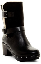 UGG Brea Genuine Shearling Lined Moto Boot