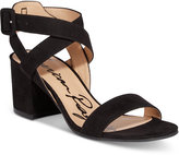 American Rag Caelie Block-Heel Sandals, Only at Macy's Women's Shoes