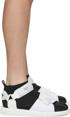 Suicoke White maharishi Edition Kuno Flat Sock Sandals