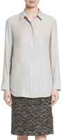 Lafayette 148 New York Women's Carlise Silk Blouse