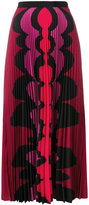 Mary Katrantzou printed accordion pleat maxi skirt