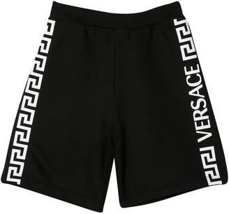 Versace Black Bermuda Shorts