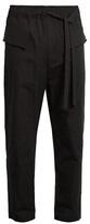 Damir Doma Paivi drawstring cotton trousers