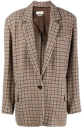 Etoile Isabel Marant Kaito check-pattern blazer