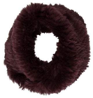 Vince Knitted Fur Snood