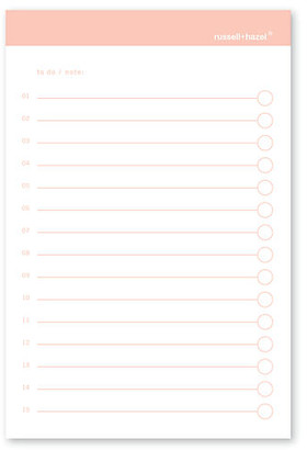 Russell + Hazel To-Do Adhesive Notes