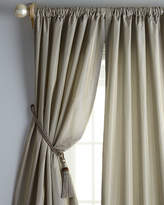 """Eastern Accents Each 48""""W x 96""""L Rod-Pocket Kate Curtain"""