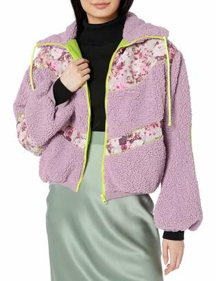 For Love & Lemons Women's Sloane Shearling Jacket