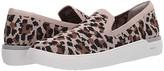 Rockport Truflex Parissa Loafer (Tan Leopard) Women's Sandals