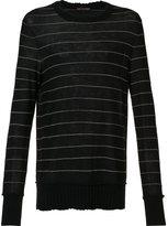 Ziggy Chen striped cashmere jumper
