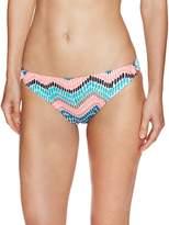 Shoshanna Women's Ionian Mosaic Ring Bikini Bottoms